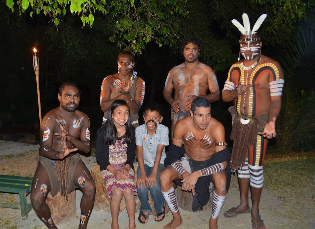 Tjapukai Aboriginal Cultural Park night