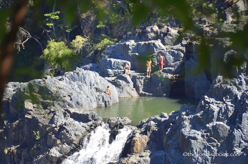 Barron Falls swim