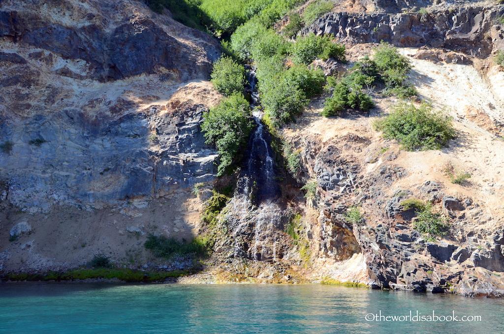 Chaski Falls Crater Lake