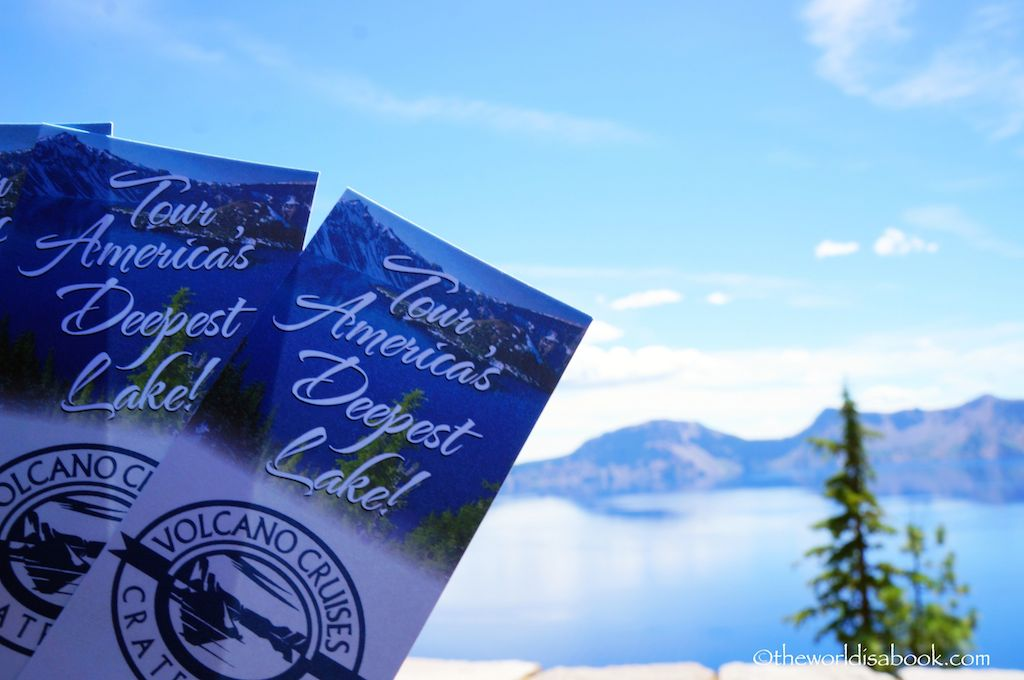 Crater Lake Volcano Cruises
