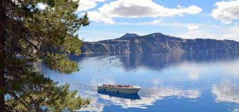 Cruising Crater Lake National Park