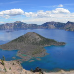 Rim Drive at Crater Lake National Park with Kids