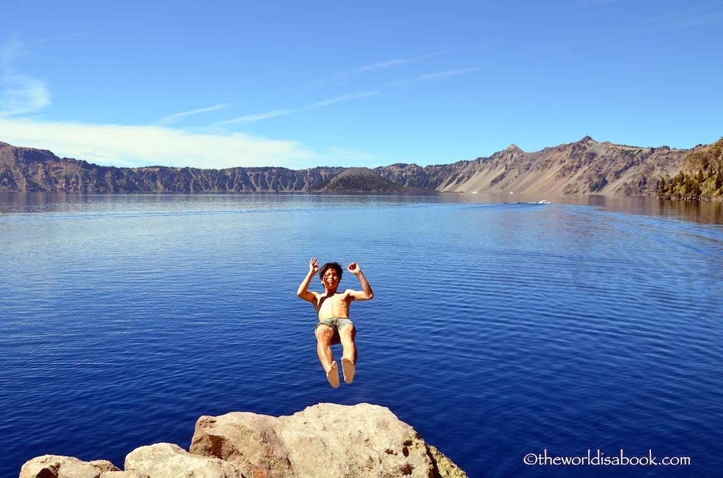 Crater Lake divers