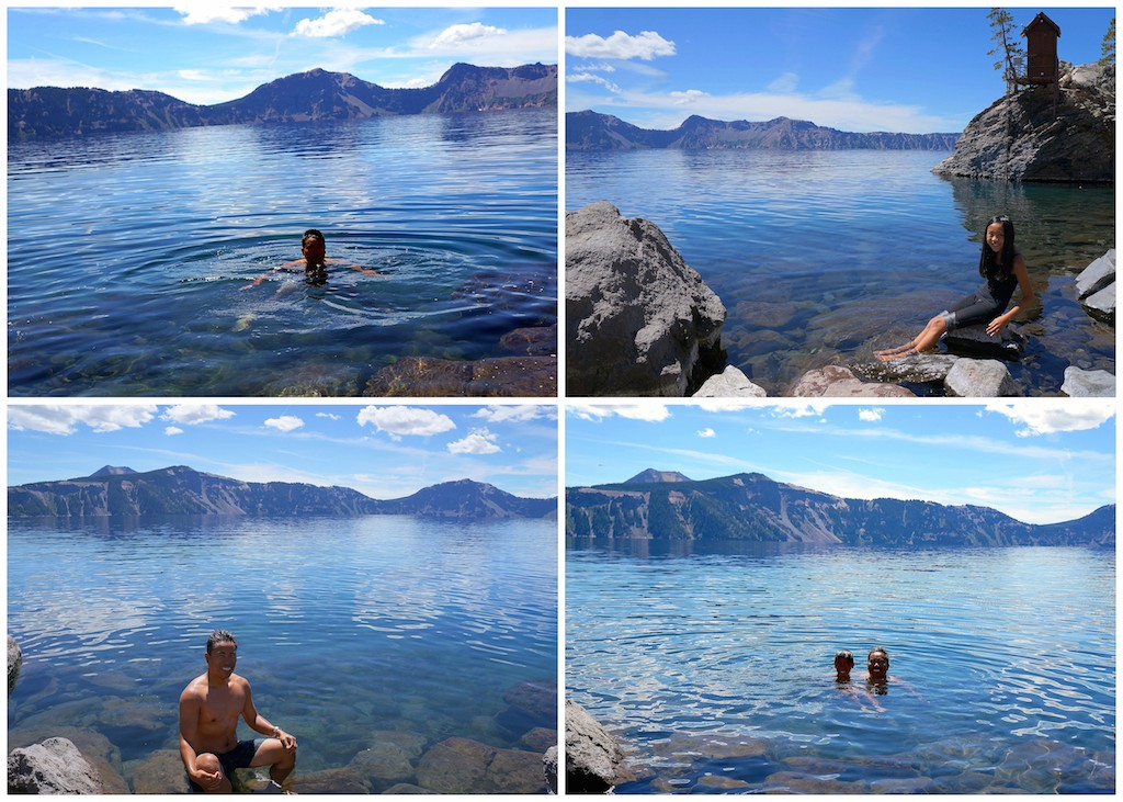 Crater Lake swim