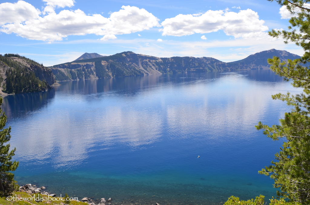 Crater lake national park view