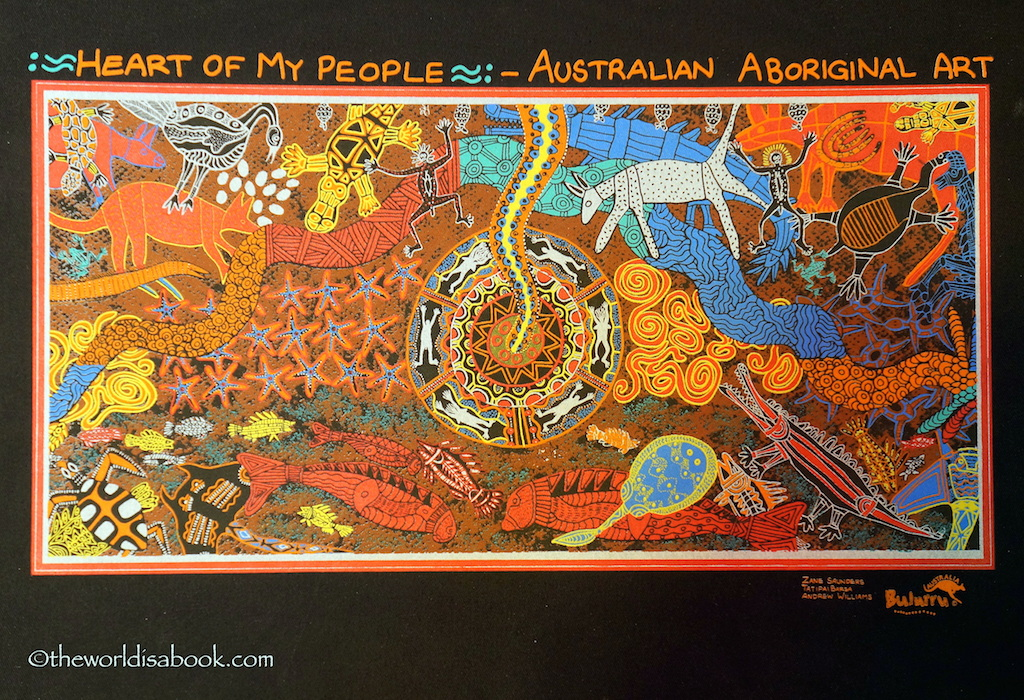 Heart of my people Aboriginal art