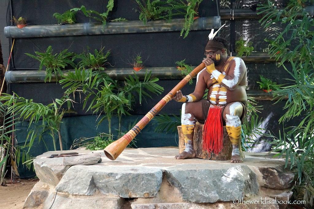 Tjapukai Aboriginal Park Didgeridoo