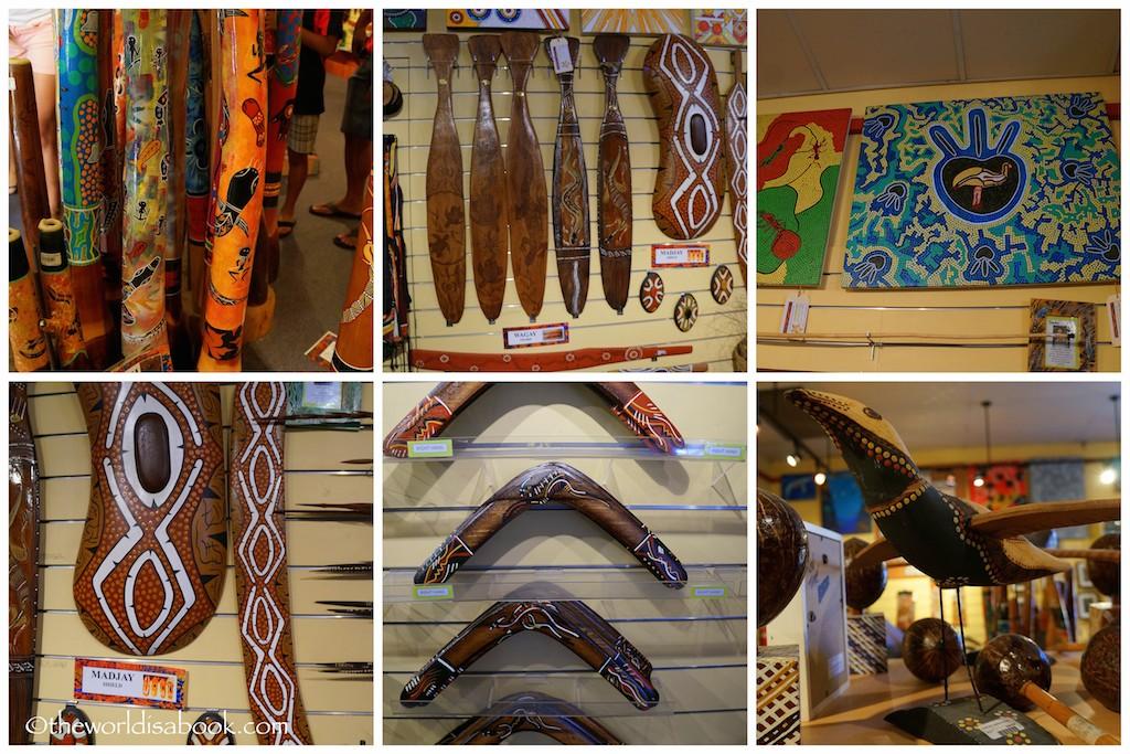 Tjapukai Aboriginal Park gift shop