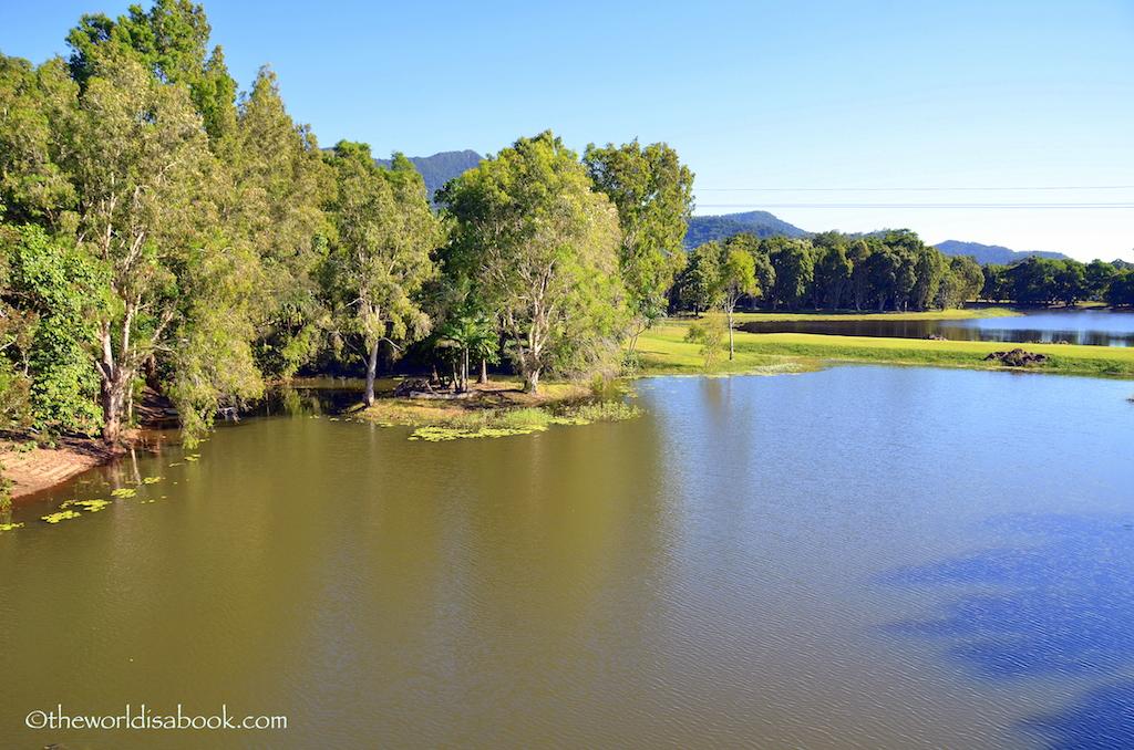 Tjapukai Aboriginal park grounds