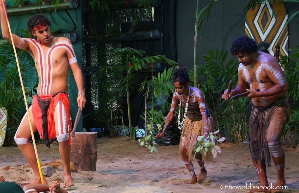 Tjapukai dance show