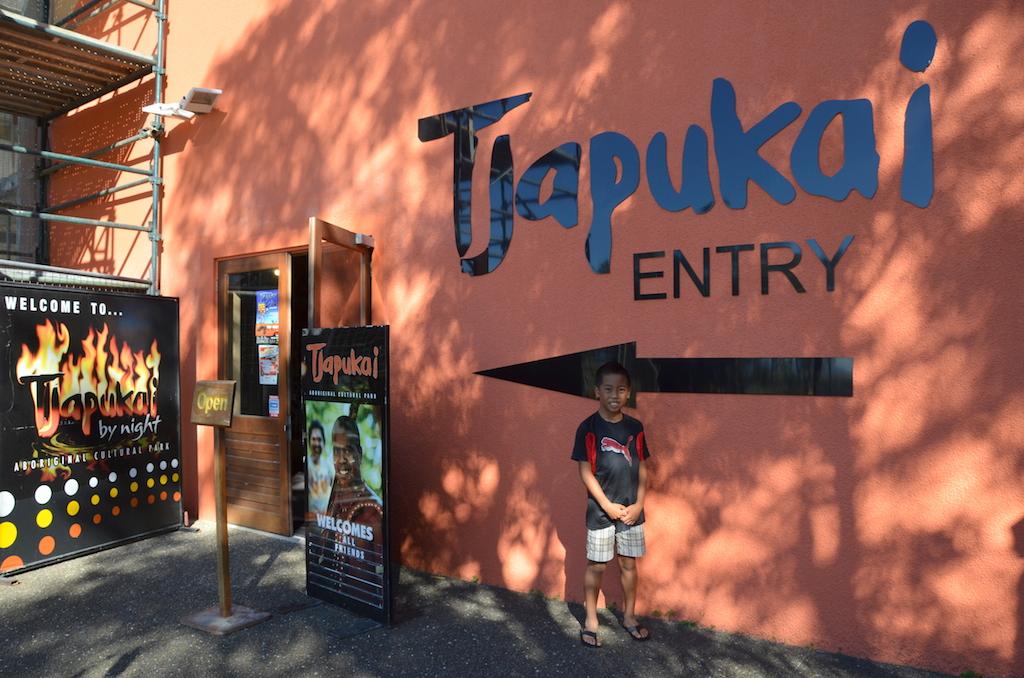 Tjapukai entrance