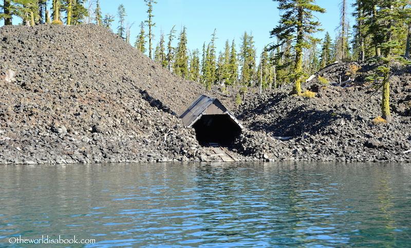 Wizard Island boat ramp