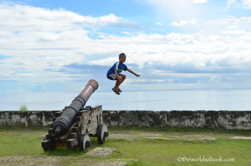 Fort Soledad cannons Guam