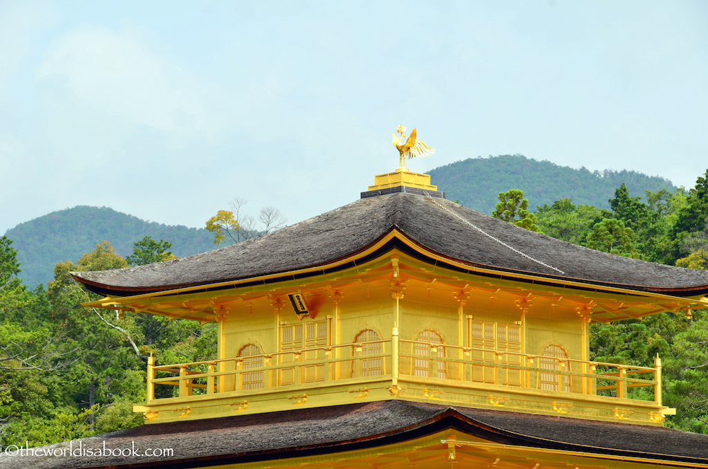 Golden Pavilion Kyoto phoenix