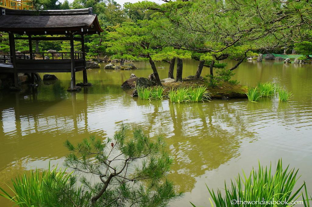 Kinkakuji pond kyoto