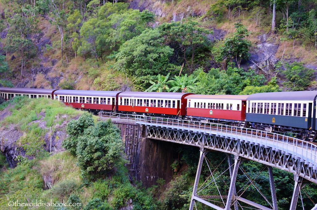 Kuranda Scenic Railway trains