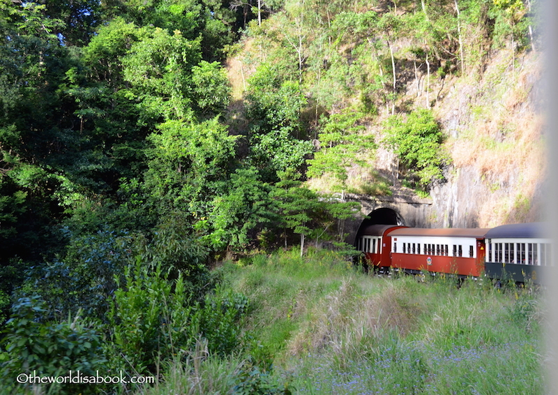 Kuranda Scenic Railway tunnel