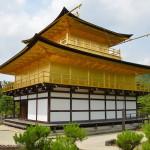 Strolling through the Golden Pavilion Kyoto