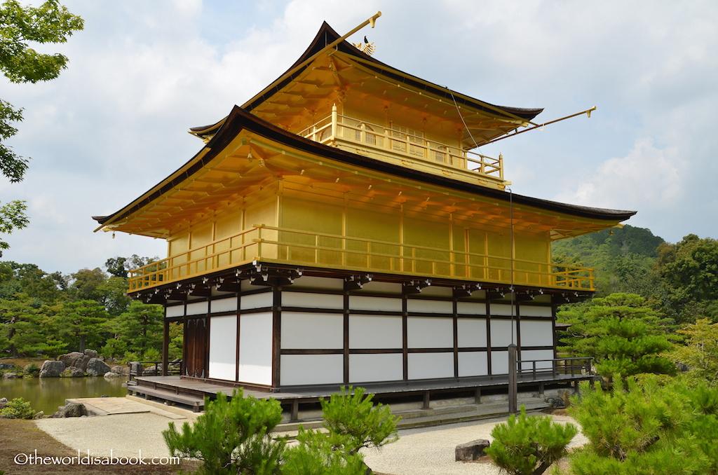 Kyoto Golden Pavilion back