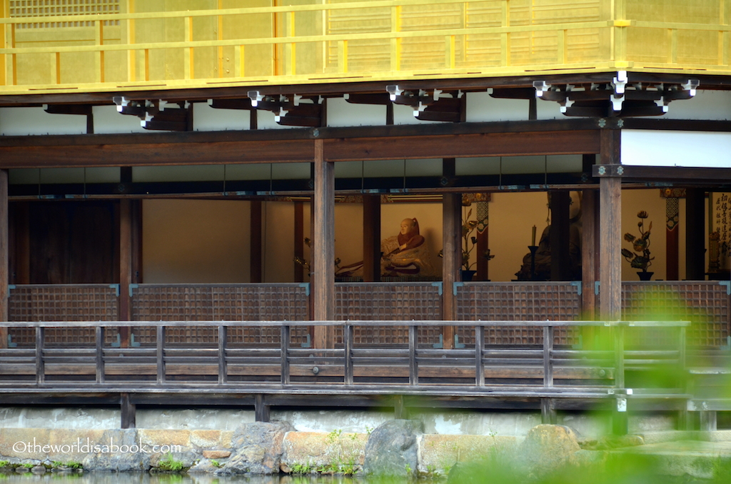 Kyoto Golden Pavilion first floor