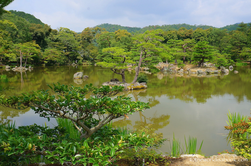 Kyoto Golden Pavilion gardens