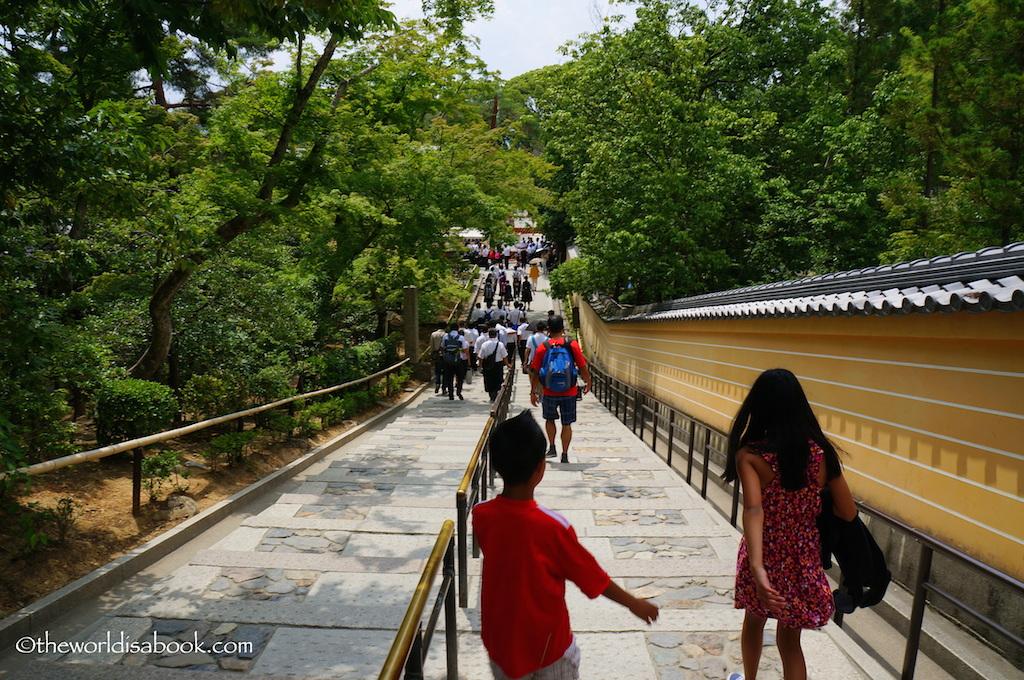 Kyoto Golden Pavilion exit