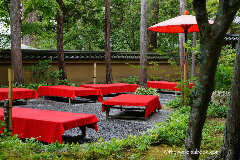 Kyoto Golden Pavilion tea house