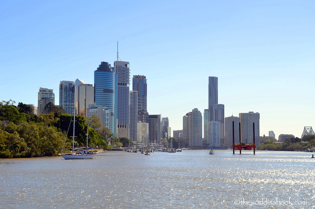 Brisbane CBD Central Business District