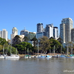 Cruising the Brisbane River Australia