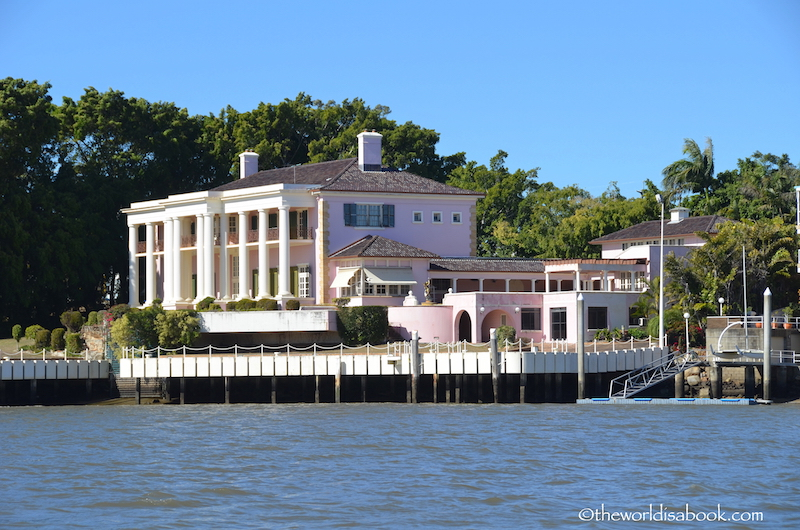 Brisbane pink mansion