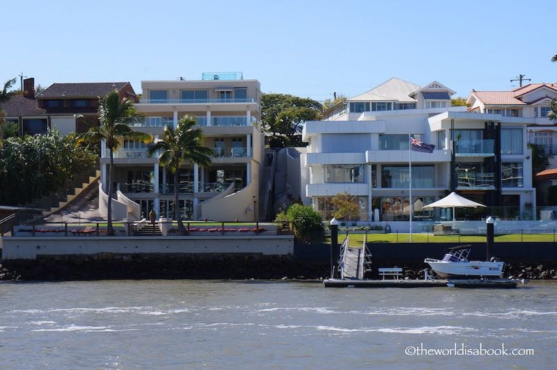 Brisbane riverfront mansions