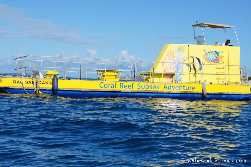 Fiji Coral Reef Subsea Adventure
