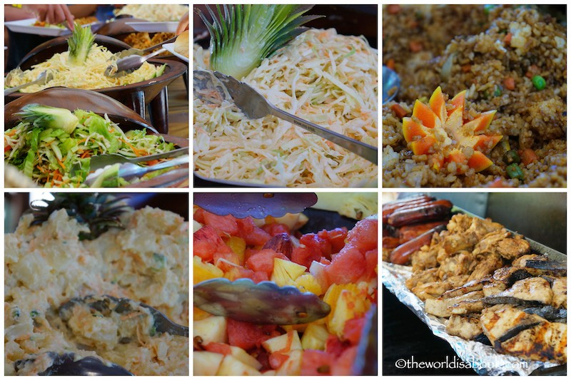 Fiji South Sea Island buffet