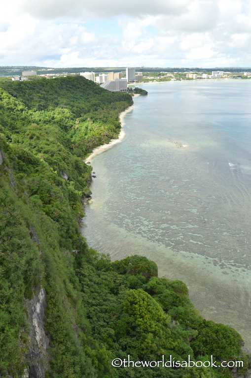 Guam Two Lovers Point cliff