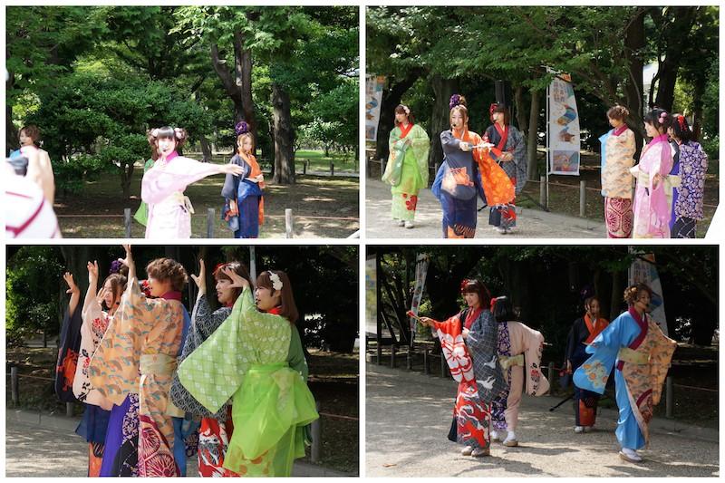 Nagoya Castle Japanese singers