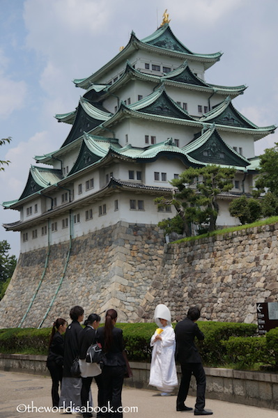 Nagoya Castle bride