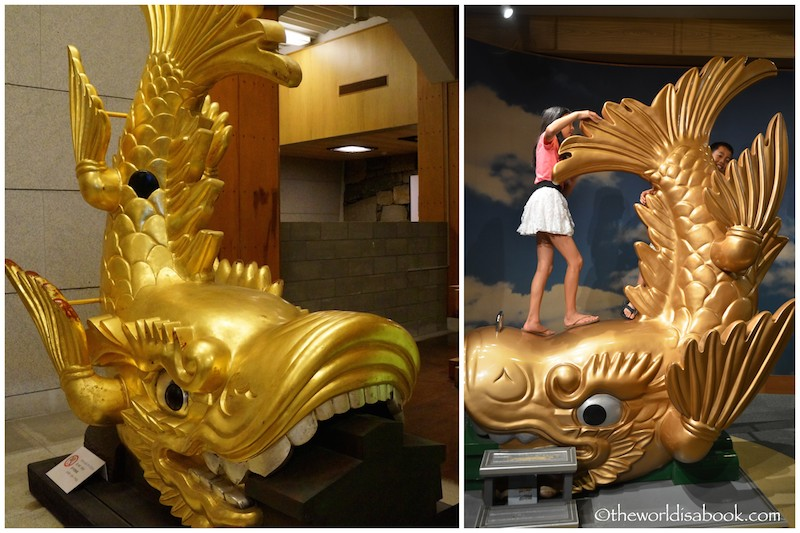 Nagoya Castle golden dolphins