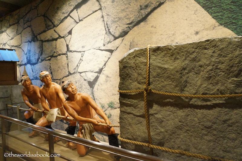Nagoya Castle hauling stones