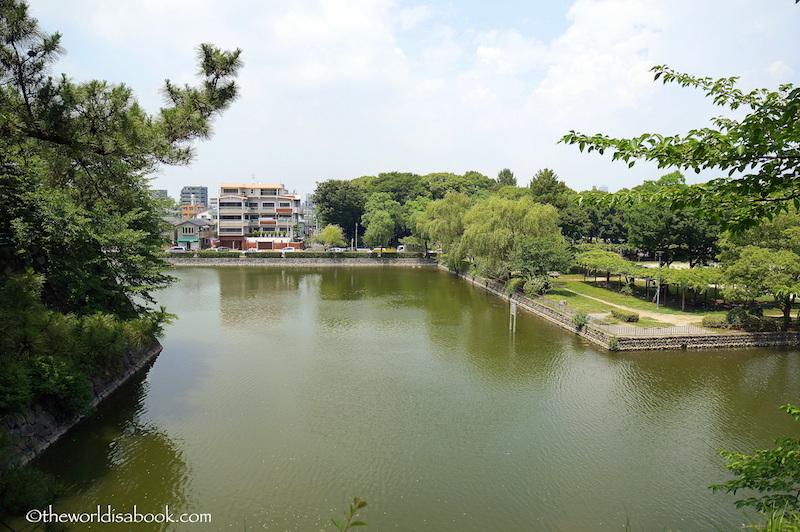 Nagoya Castle moat