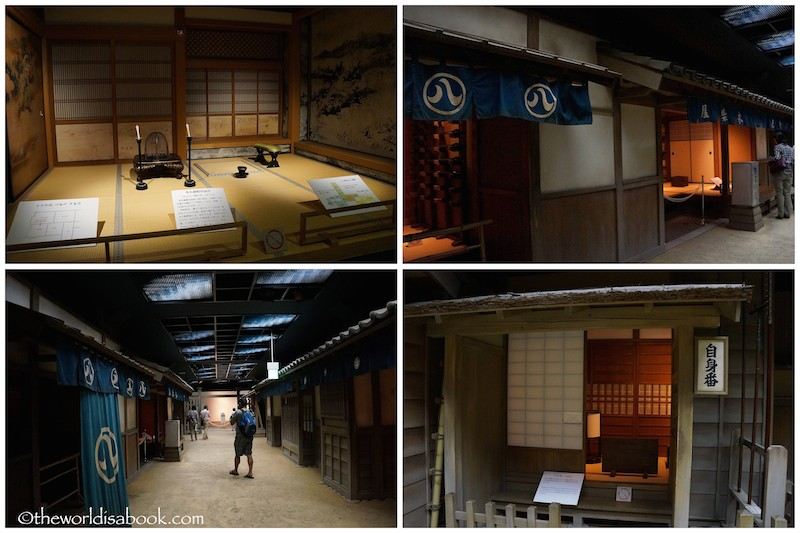 Nagoya Castle museum city street