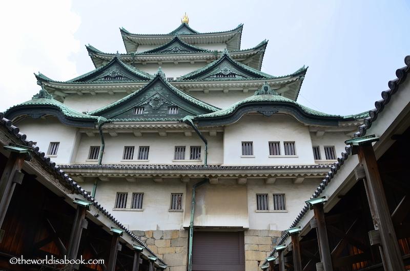 Nagoya Castle passageway