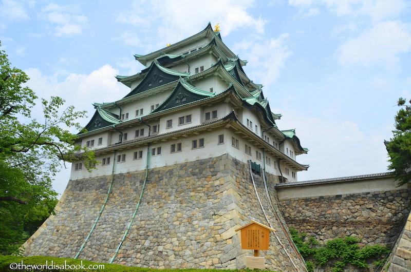 Nagoya Castle stone wall