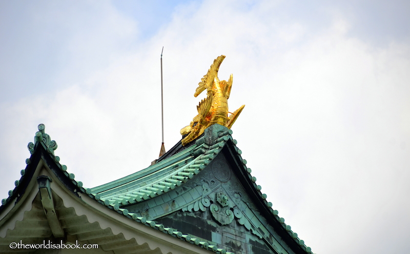 Nagoya castle golden dolphin