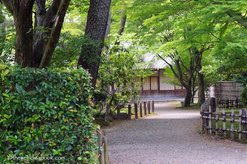 Nagoya castle tea houses