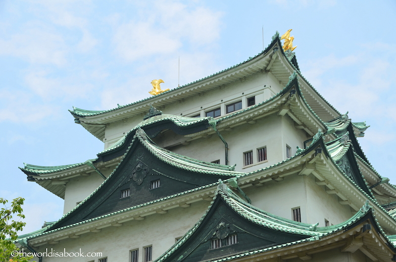 Nagoya castle tower