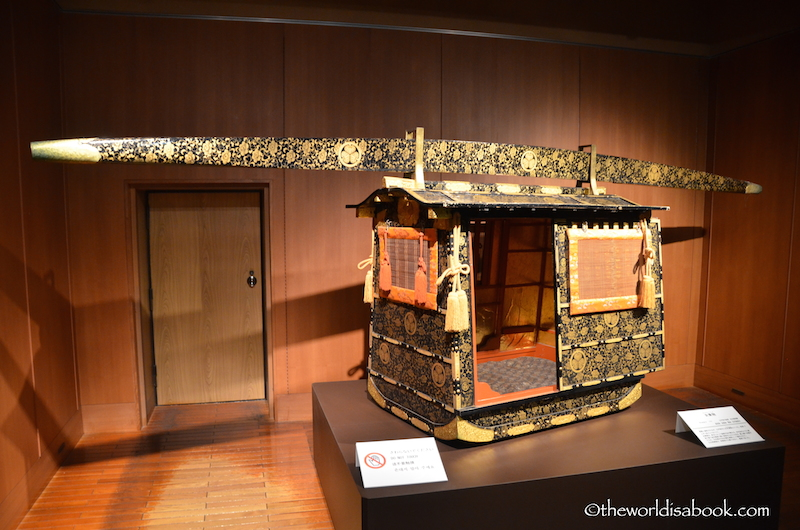 Nagoya castle treasures