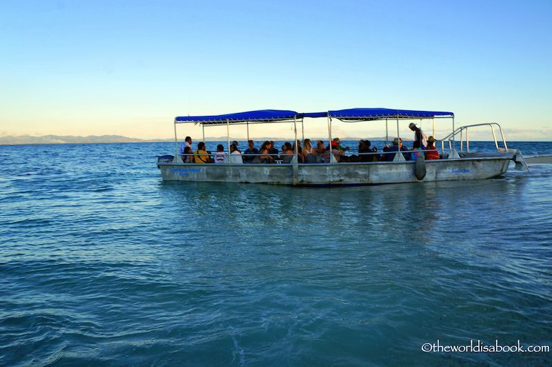 South Sea Island boat Fiji