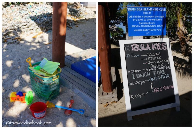 South Sea Island kids club Fiji