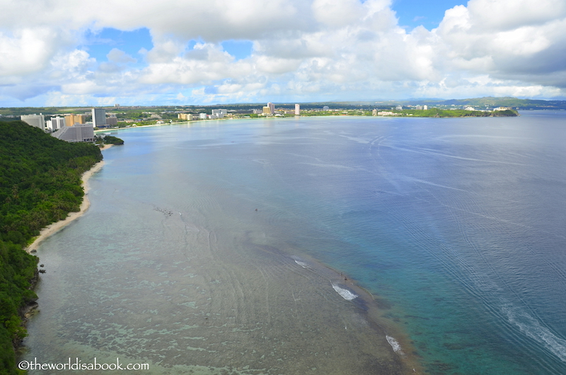 Two Lovers point Guam view