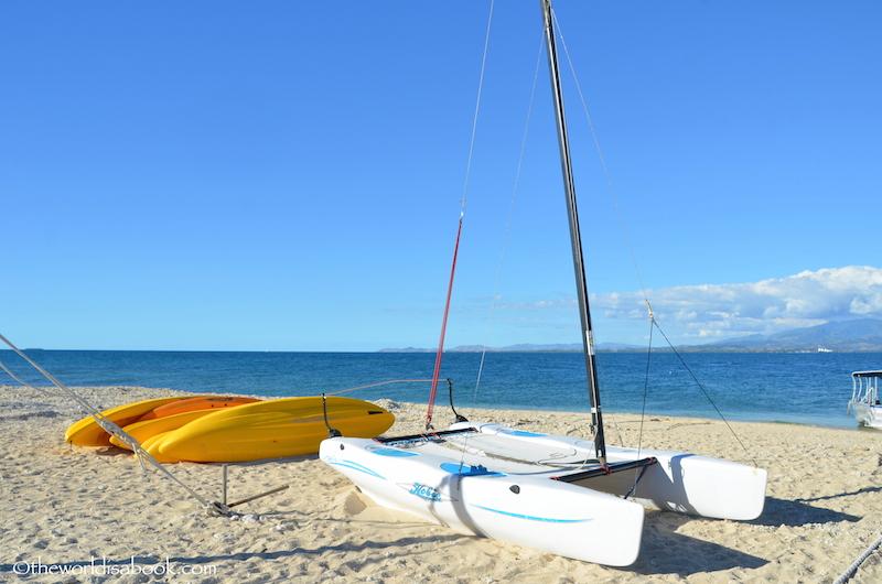 Water sports South Sea Island Fiji